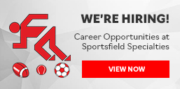 We're Hiring at Sportsfield Specialties!