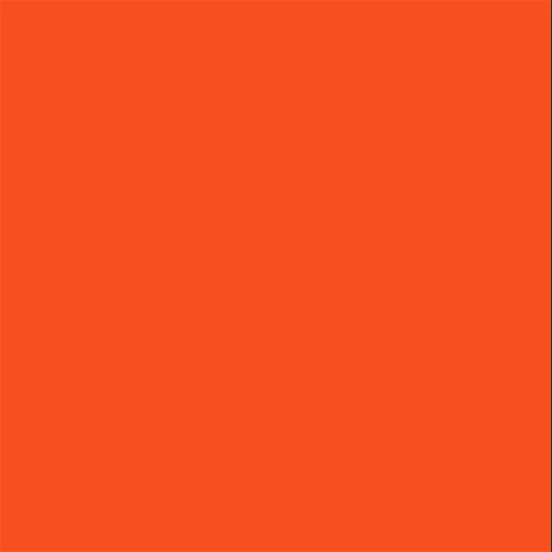 Color Swatch - Safety Orange