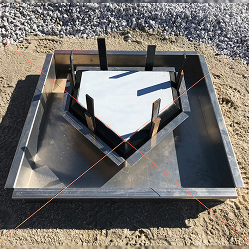 Home Plate Forming System
