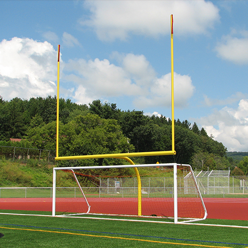 GoalPak® Combination Football / Soccer Goals with Base Plate