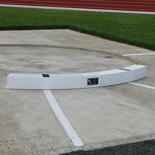 Shot Put Toe Boards