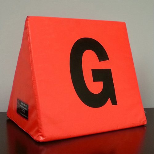 Football Sideline Yardage Markers