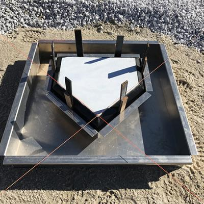 Homeplate Forming System