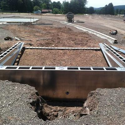 Water Jump Pit Forming Systems