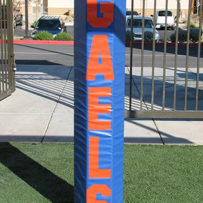 Hexagonal Football Goal Post Padding